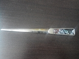 Нож для бумаг со вставками из венецианского стекла, фото №2