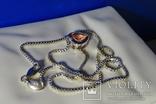 Колье Esprit c кулоном. Серебро 925, камень. Клейма., фото №10