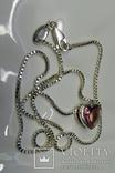 Колье Esprit c кулоном. Серебро 925, камень. Клейма., фото №11