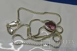 Колье Esprit c кулоном. Серебро 925, камень. Клейма., фото №12
