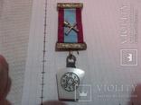 Масонская медаль знак масон 1884, фото №2