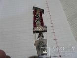 Масонская медаль Серебро знак масон 2530, фото №2