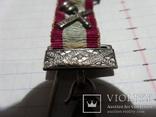 Масонская медаль Серебро знак масон 2530, фото №3