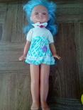 Кукла на резинках паричковая с клеймом Днепропетровск ф- игрушек., фото №2