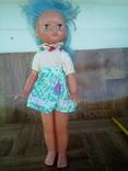 Кукла на резинках паричковая с клеймом Днепропетровск ф- игрушек., фото №4