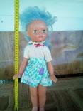 Кукла на резинках паричковая с клеймом Днепропетровск ф- игрушек., фото №5