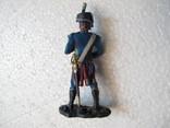 Гренадер Удино . Музыкант . Наполеон 65 мм Италия олово, фото №4