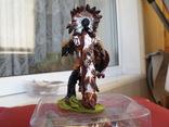 Sitting Bull индеец 80 мм олово  Италия, фото №3
