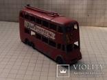 Троллейбус двохэтажный London trolleybus by lesney N 56, фото №2