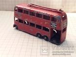 Троллейбус двохэтажный London trolleybus by lesney N 56, фото №5