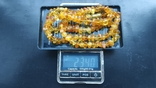 Янтарные бусы, вес 23.40 гр., фото №4