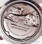 Часы Louvic Automatic, винтаж 1950е, Swiss Made, фото №7