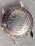 Часы Louvic Automatic, винтаж 1950е, Swiss Made, фото №8