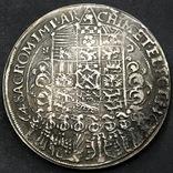 1662 г. 1 талер Иоан Германия (Средневеко́вье) копия, фото №3