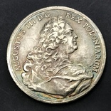 1748 г. 1 талер Август ІІІ Польша (Средневеко́вье) копия, фото №2