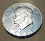 1 Доллар 1974 Пруф, фото №4