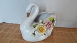 Статуэтка-ваза Лебедь
