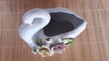 Статуэтка-ваза Лебедь фото 2
