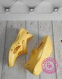 Новинка кроксы, аквашузы Steiner желтые 37 размер, фото №7