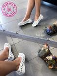 Ажурные балетки мыльницы для пляжа 38 размер, фото №7