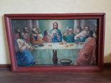 Икона Тайная вечеря на холсте, фото №2