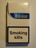 Сигареты Winston Blue slims
