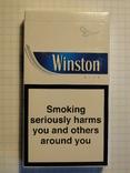 Сигареты Winston Blue slims фото 2