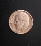 1 дайм 1964 р., фото №3