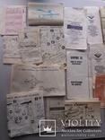 Документы  к самолетам 25 шт., фото №8