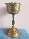 Старинная церковная чаша - потир.клейма 19 век