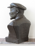 Бюст Ленина. Скульптура, Гжель., фото №4
