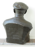 Бюст Ленина. Скульптура, Гжель., фото №5