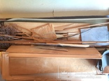 Сборная модель самолёта из дерева. Экземпляр старый, СССР, фото №12