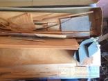 Сборная модель самолёта из дерева. Экземпляр старый, СССР, фото №13