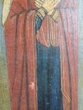 Икона Св.Николай, Богородица, Св.Варвара, Иисус Христос, фото №10