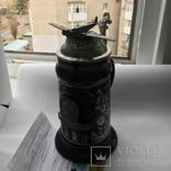 Коллекционная пивная кружка Люфтваффе Парашютисты Германия Лимитированная серия, фото №6