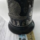 Коллекционная пивная кружка Люфтваффе Парашютисты Германия Лимитированная серия, фото №7