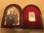 Ікона Зарваницької Матері Божої 1 долар срібло, фото №2