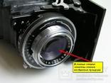 Фотоаппарат Ercona II,1956 год,VEB Zeiss Ikon,Германия.Гарантия 1 год., фото №5
