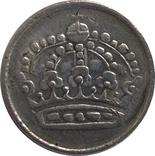 Швеция 25 оре 1956-серебро,С22, фото №3