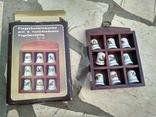 Наперстки Птицы набор на полке настенный декор в фирменной коробке, фото №9