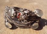 Старый браслет с лунными камнями., фото №2