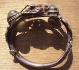 Старый браслет с лунными камнями., фото №3