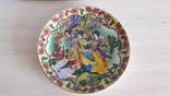 Настенная тарелка в китайском стиле