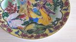 Настенная тарелка в китайском стиле фото 3