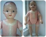 Старинная кукла папье маше неопознанная, фото №2