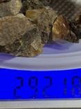 5 бус из янтаря общим весом 292 грамм, фото №5