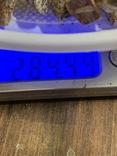 5 бус из янтаря общим весом 284 грамм, фото №6