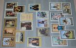 Не гашеные мира марки 590 шт блоки 169 шт сцепки 10 шт и альбом СССР новый, фото №6