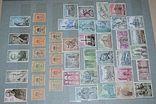 Не гашеные мира марки 590 шт блоки 169 шт сцепки 10 шт и альбом СССР новый, фото №8
